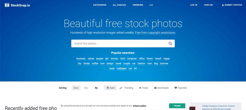 stock snap sito immagini gratuite