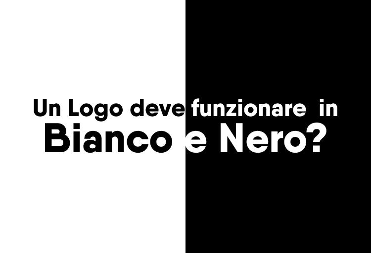 un logo deve funzionare in bianco e nero